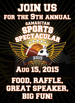 Join us for the 9th annual Sports Spectacular, Aug 15, 2015.